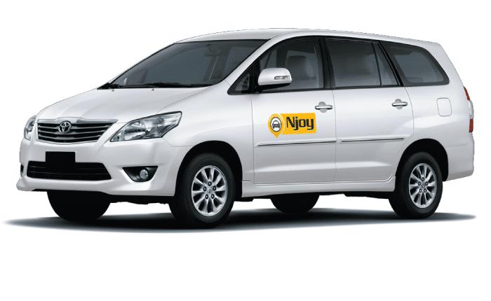 Innova Taxi Cabs Service - Njoy Cabs